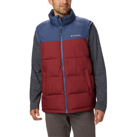 Columbia Pike Lake Vest Men red jasper/dark mountain